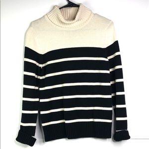 Jeanna Pierre | striped turtleneck sweater S
